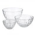 Посуда столовая и предметы сервировки из стекла