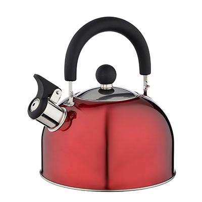 Чайник стальной 2.5л красный, индукция, RWK021