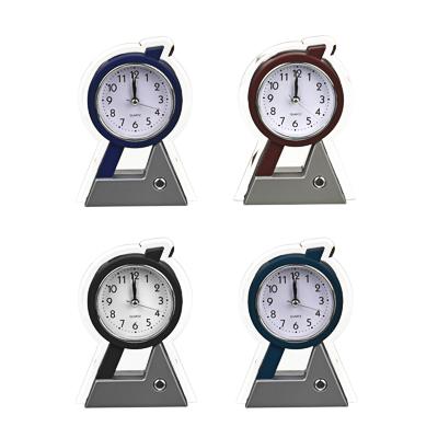 LADECOR CHRONO Будильник электронный, 15,3х11х3,7см, пластик, 1хАА, 4 цвета, арт.0012