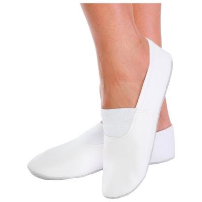 Чешки комбинированные, цвет белый, размер 130 (длина стопы 15,2 см)