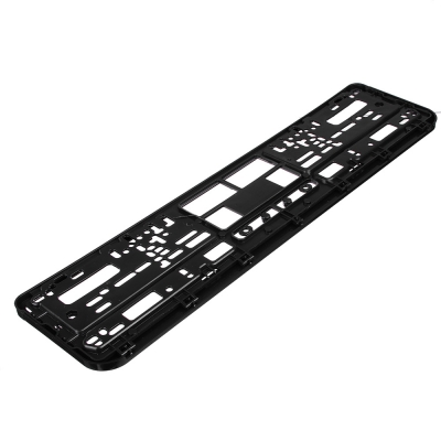 NG Рамка автомобильного номера, пластик, шелкография RUSSIA, черный, 53,6х13,1см