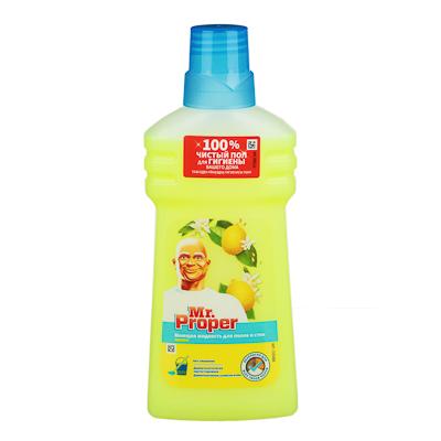 Жидкость для мытья полов и стен MR PROPER Бережная уборка, п/б 500мл