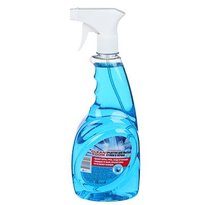 """Средство для мытья стекол и зеркал """"Cleen Room"""" с нашатырным спиртом 750мл"""
