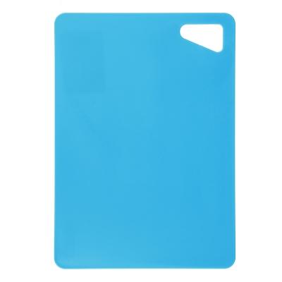Доска разделочная, пластик, 17х24см, 3 цвета