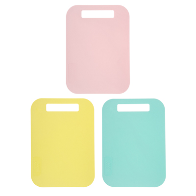 Доска гибкая универсальная, малая, пластик, 29x21см, 3 цвета, арт.Р2010