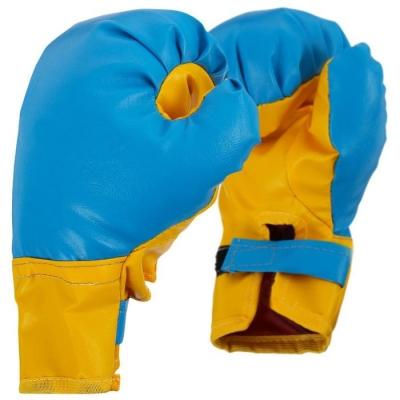 Перчатки боксерские детские, цвета МИКС