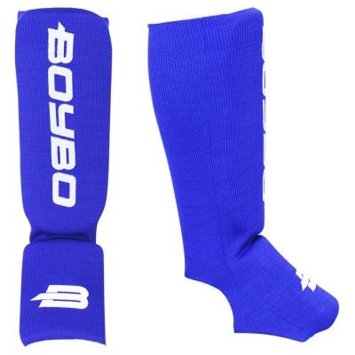 Защита голеностопа Boybo, х/б, цвет синий,