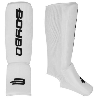 Защита голеностопа Boybo, х/б, цвет белый, размер S