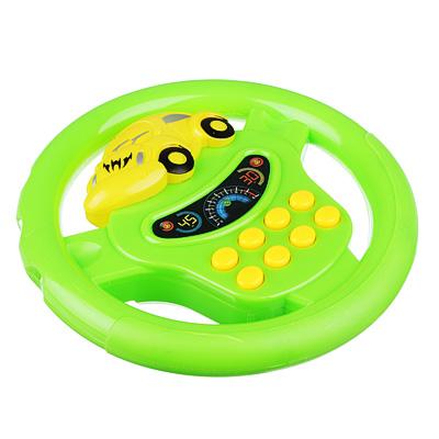 МЕШОК ПОДАРКОВ Игрушка электронная Руль, свет, звук, пластик, 2хАА, 17,5х17х4см, ZY384009