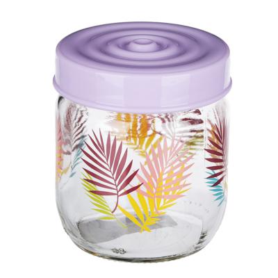 HEREVIN Тропики Банка для сыпучих продуктов, стекло, 425мл, 171341-061