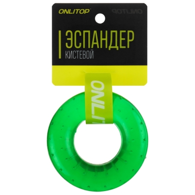 Эспандер кистевой 7 см, нагрузка 40 кг, цвета МИКС