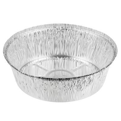 Форма для запекания, алюминиевая фольга, d20,5cм, дно d16,7см, 1405мл, L-край, арт.99-02