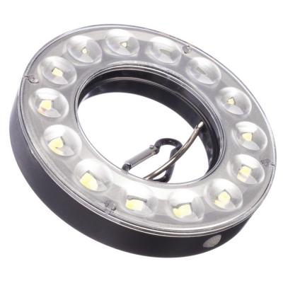 Фонарь кемпинговый светодиодный, 14 LED, 90 лм, 7 Вт, 3 режима 11х2 см, 4 АА