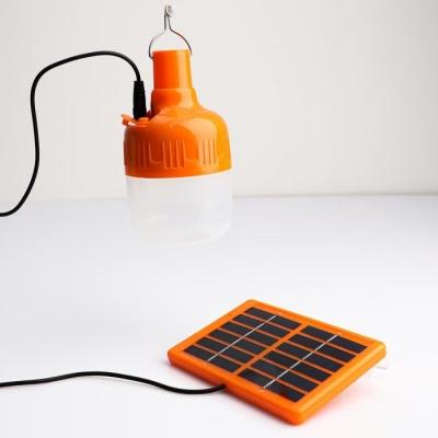 Фонарь кемпинговый с солнечной батареей 10 Вт, 10 LED, 500 мАч