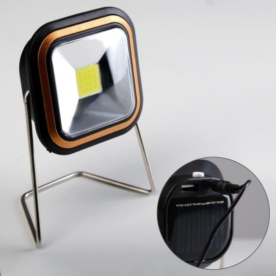 Фонарь аккумуляторный 3 Вт, 1200 mAh, солнечная батарея, USB, зарядка для телефона