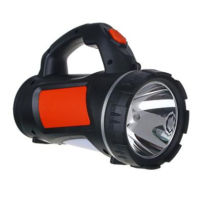 ЧИНГИСХАН Фонарь прожектор, SS-5805, 1 LED, 1 СОВ, 3 Вт, 17х11см, 4 режима, 1000мАч, USB, пластик