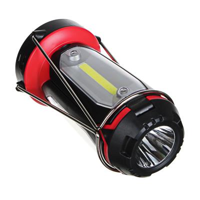 ЧИНГИСХАН Фонарь светильник, 1 LED, 3 COB 800 мАч, 15х8.5х8.5см, 6 режимов, пластик