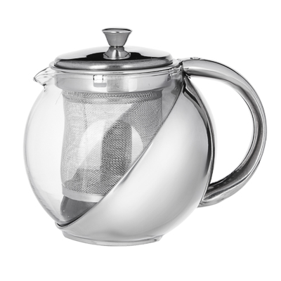 VETTA Чайник заварочный 500мл с ситечком, нерж.сталь, стекло