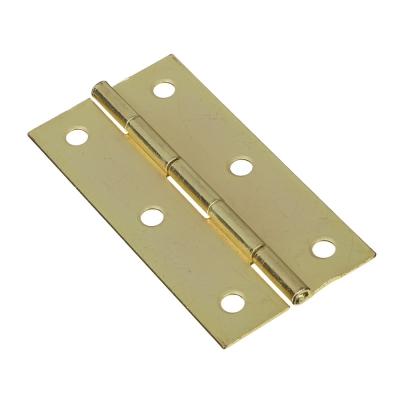 Петля 73х38х1мм, золото, цена за 2 шт, металл