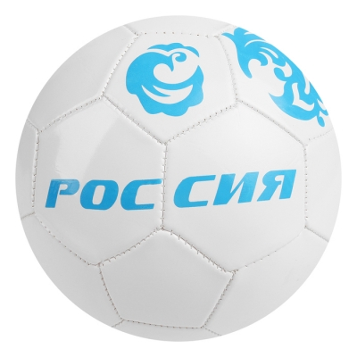 Мяч футбольный «Россия», 32 панели, PVC, 2 подслоя, машинная сшивка, размер 5, 260 г