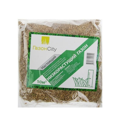 Семена газона Настоящий Низкорастущий, 0,3 кг