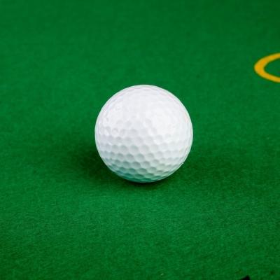 Мяч для гольфа, 2-х слойный, 420 выемок, d=4.3 см, 45г