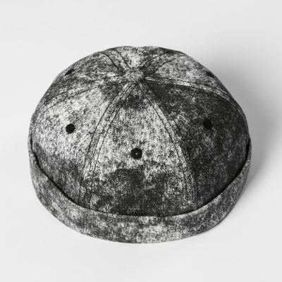 Кепка «Варёнка» чёрная, без козырька, р-р 56 см