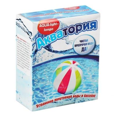 Средство от помутнения воды в бассейнах Акватория AQUA-light- longo, 500 г