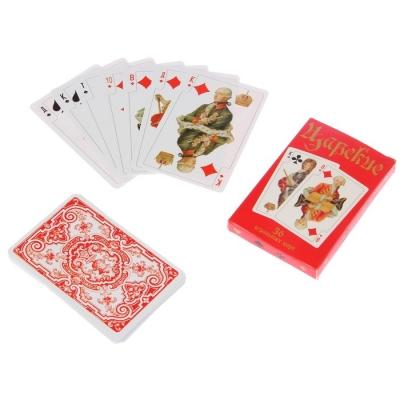 """Карты игральные """"Царские"""", 36 карт"""