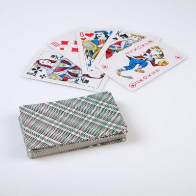 """Карты игральные бумажные """"Король"""", 54 шт., 8,8×5,7 см, микс"""