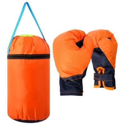 Детский боксёрский набор малый (перчатки+ груша d20 h35см), цвет МИКС