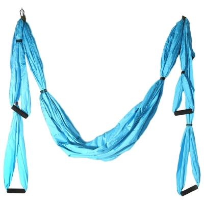 Гамак для йоги 250 х 140 см, цвет голубой