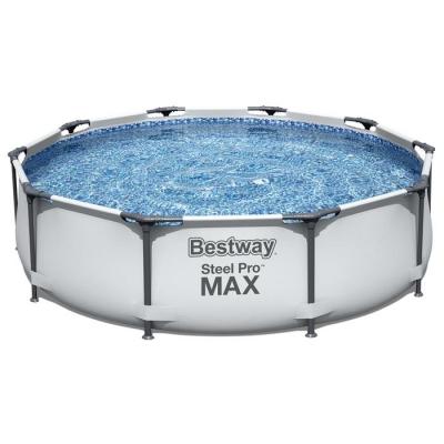 Бассейн каркасный Steel Pro Max, 305 х 76 см, с фильтр-насосом, 56408 Bestway