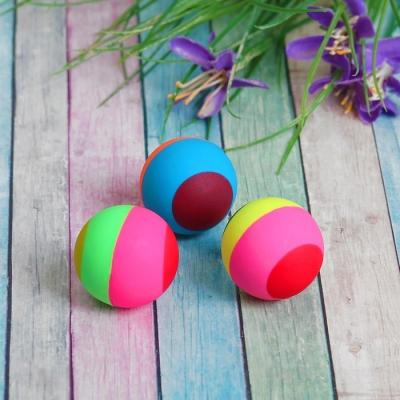 Мяч каучуковый «Полосатик», 3,3 см, цвета МИКС