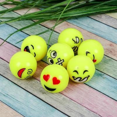 Мяч каучуковый «Смайлики», 3,2 см