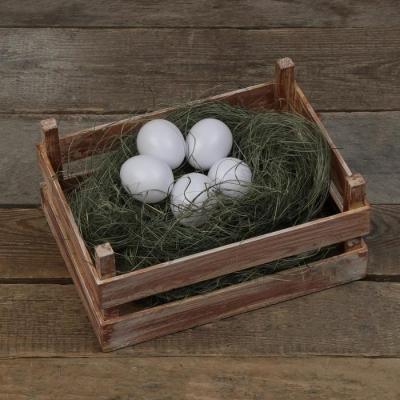 Яйцо искусственное белое