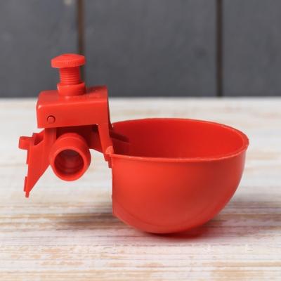 Поилка чашечная для домашней птицы, под трубку 13,5 мм, Greengo
