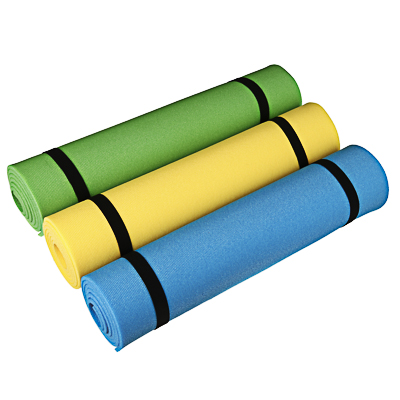 Коврик для йоги 180x60 (+/- 1%) x0,6см пенополиэтилен, 5 видов