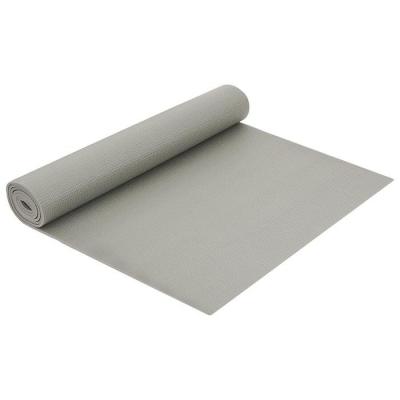 Коврик для йоги 173 × 61 × 0,5 см, цвет серый
