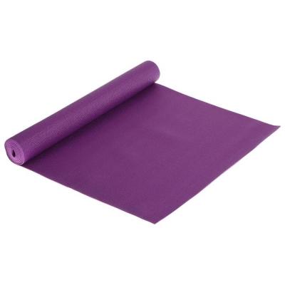 Коврик для йоги 173 х 61 х 0,3 см, цвет фиолетовый