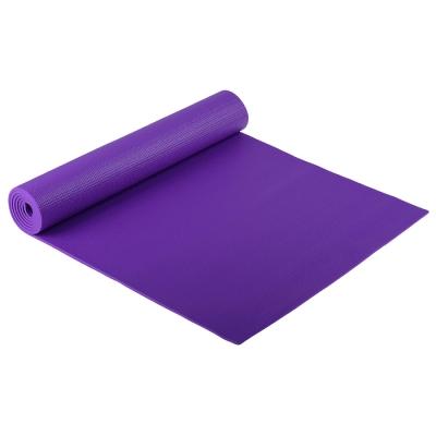 Коврик для йоги 173 х 61 х 0,6 см, цвет фиолетовый