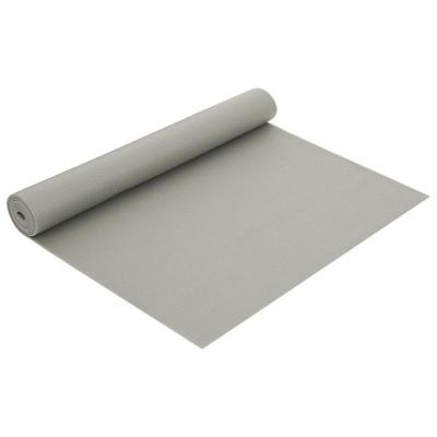 Коврик для йоги 173 × 61 × 0,3 см, цвет серый
