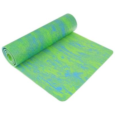 Коврик для йоги 183 х 61 х 0,7 см, двухцветный