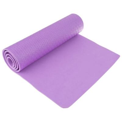 Коврик для йоги 183 х 61 х 0,7 см, цвет фиолетовый
