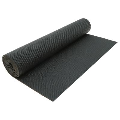 Коврик для йоги 173 × 61 × 0,5 см, цвет чёрный