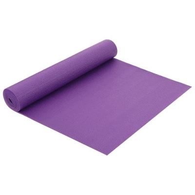 Коврик для йоги 173 × 61 × 0,5 см, цвет фиолетовый