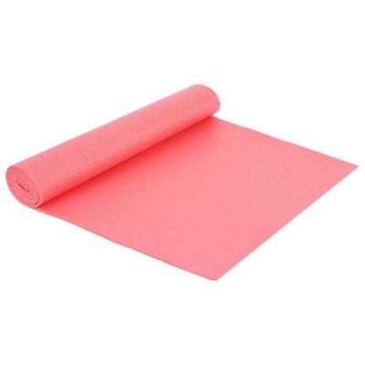 Коврик для йоги 173 × 61 × 0,5 см, цвет розовый