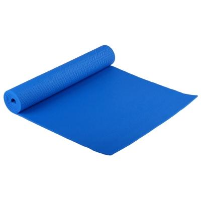 Коврик для йоги 173 × 61 × 0,6 см, цвет синий