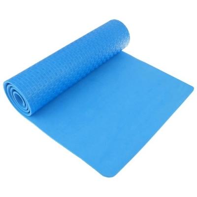 Коврик для йоги 183 х 61 х 0,7 см, цвет синий