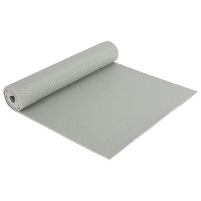 Коврик для йоги 173 × 61 × 0,6 см, цвет серый